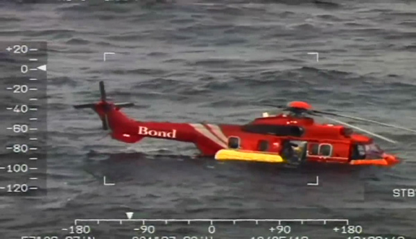 G-REDW Floating in the North Sea May 2012